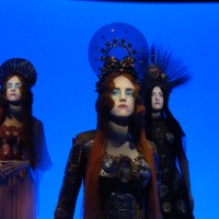 Gaultier's latest design, Animated Mannequins